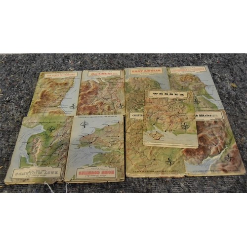 13 - Collection of 1951 travel books published for the Festival of Britain...