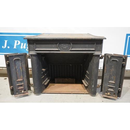 3 - Stovax wood burning stove...