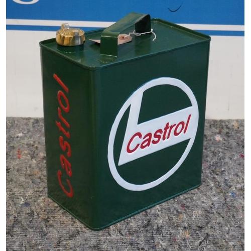 31 - Castrol petrol can...