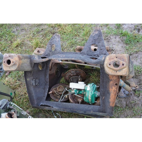 59 - Mini sub frames and hubs...