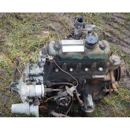 62 - Early 850 Mk1 mini engine...