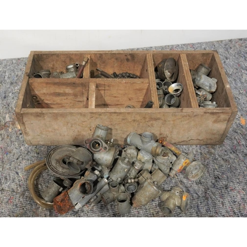 47 - Motorcycle carburettors, AMAL and others...