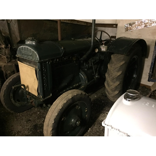 1573 - Fordson Standard  tractor. Green...