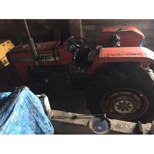 1574 - Massey Ferguson 255 tractor...