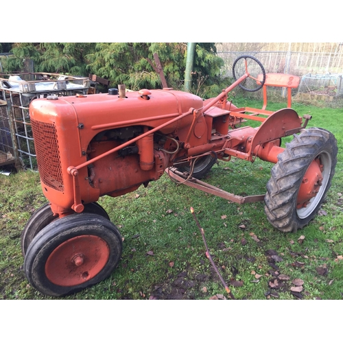1577 - Allis B rowcrop tractor. Tidy condition...
