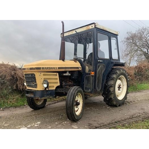 1579 - Marshall 302 tractor. Original classic. Starts and runs well. GWO...