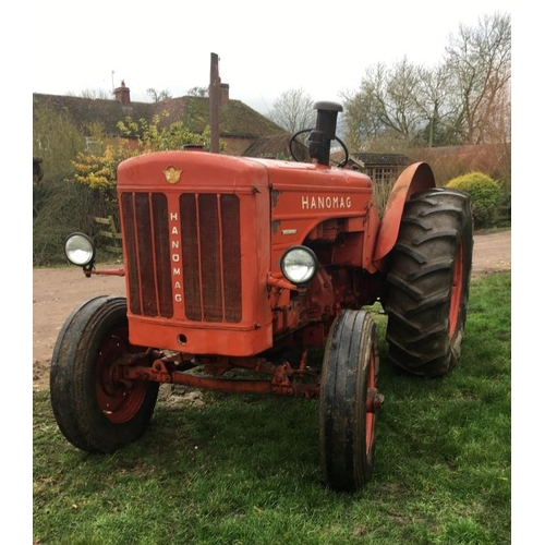 1582 - Hanomag RS45 tractor. 1960. Nice tidy tractor. From a local collection....