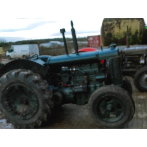 1586 - Fordson Standard N. narrow wing tractor. 1943. Fitted with Perkins 4270 engine. All correct castings...