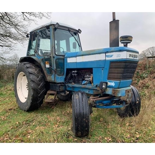 1594 - Ford 8100 tractor. 1980. Working order, runs well. V5 +VAT...