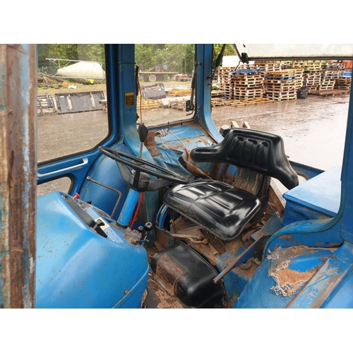 1596 - Ford 7600 tractor. 1978. Original tractor, good tyres. GWO with loader brackets, joystick in cab...