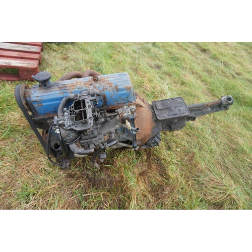 19 - Ford Pinto engine and gearbox...