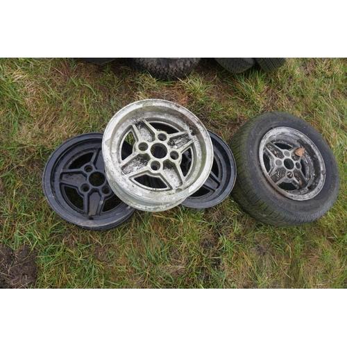 26 - Ford alloy wheels -4...
