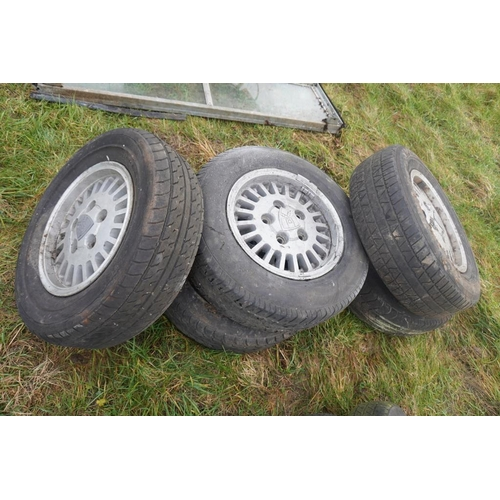 28 - Rover Viteste wheels and tyres -5...