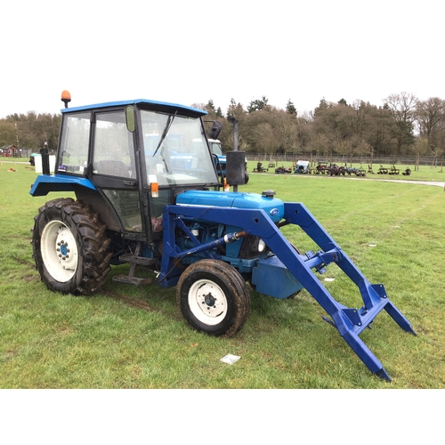 1584 - Ford 3830 tractor. L Reg. 3194Hrs. Very tidy...