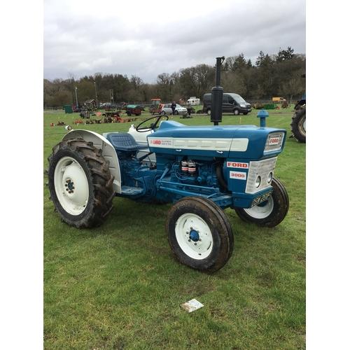 1600 - Ford 3000 Super Dexta tractor. 1967. c/w engine rebuild, fresh paint, top link. V5...