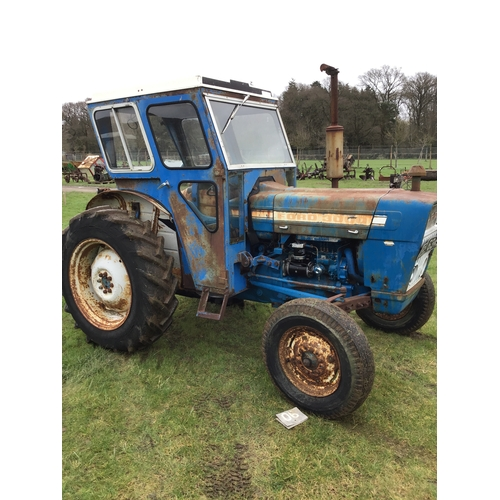 1590 - Ford 3000 tractor, off farm, barn stored for many years...