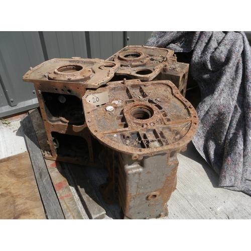 20 - 3 Standard engine blocks...