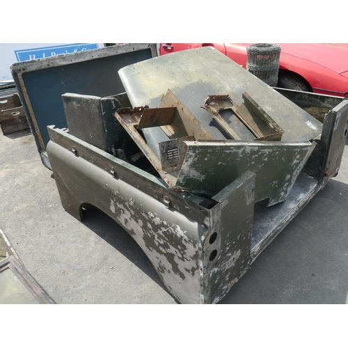 33 - Land Rover series 3 spares & panels, 1977...