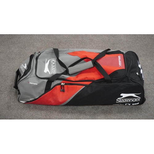 55 - Slazenger elite cricket bag...