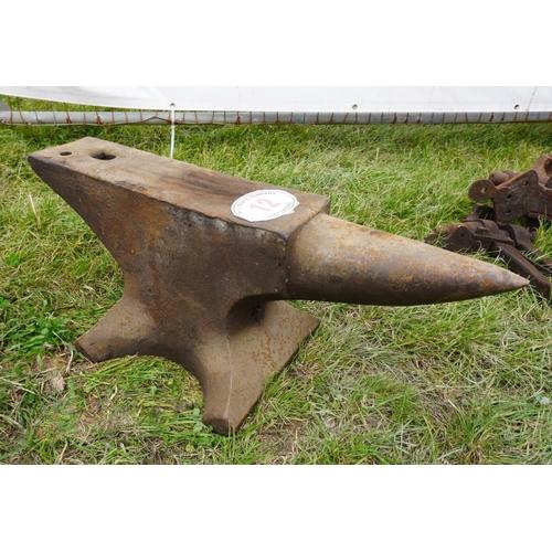 12 - Large anvil...