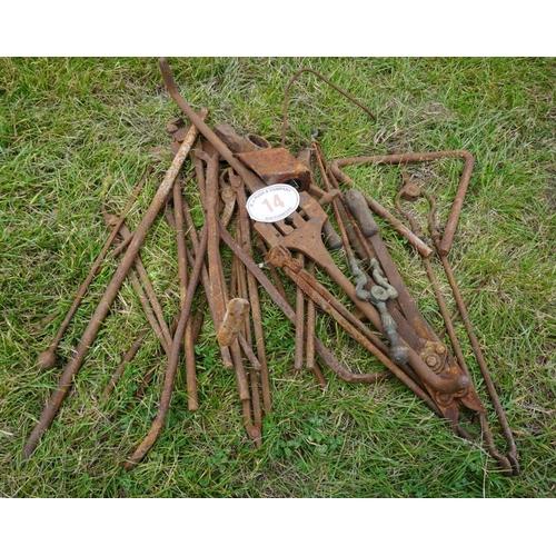 14 - Blacksmiths tools...