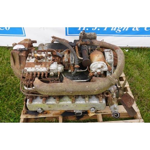 43 - Perkins P6 engine...