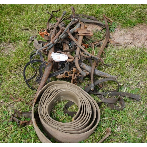 5 - Horse hames and harness...