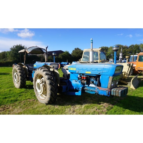 100 - Ford Doe-130 Tandem tractor. wheel weights,  D669. Reg. ANO 581F  V5...