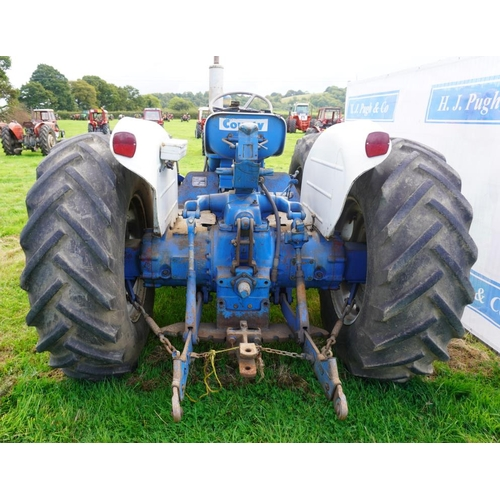 94 - County Super Four 754 Select-O-Speed tractor. Swinging drawbar, original condition, 3637hrs. SN. 203...