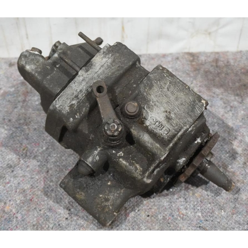 11 - Triumph 1930's Val page hand change gearbox...