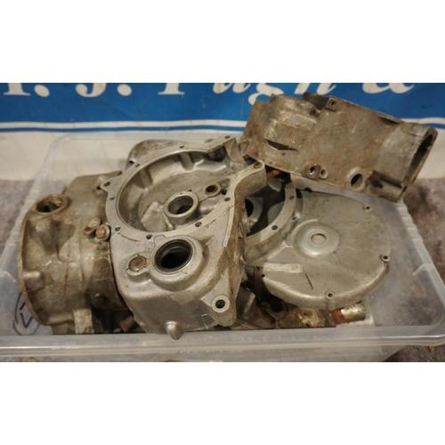 17 - Triumph Tiger Cub trials parts, engine No T20T 73643 (2 Boxes)...