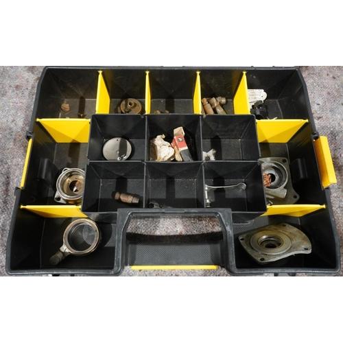 19 - Box of magneto parts...