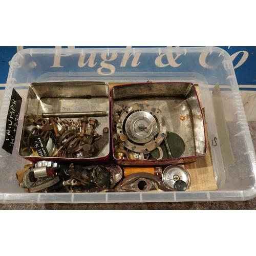 21 - Vintage Triumph & other spares...