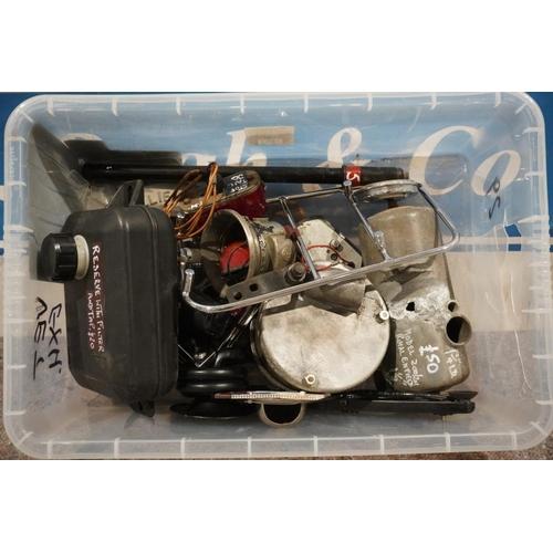 29 - Vintage motorcycle & car parts...