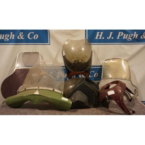 60 - Various motorcycle fairings...