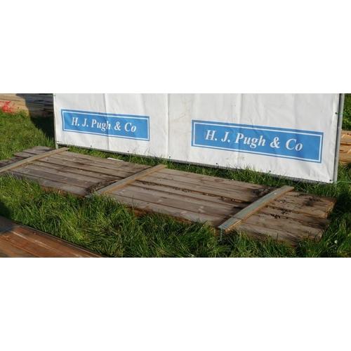 604 - T&G boards 3.5M 150x15 -42 +VAT...