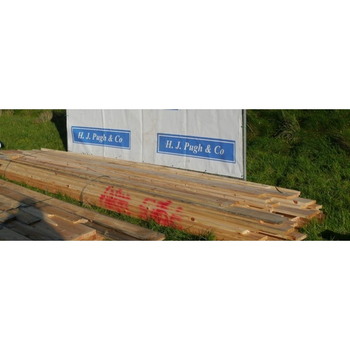 608 - Decking and other boards 4.2M +VAT...