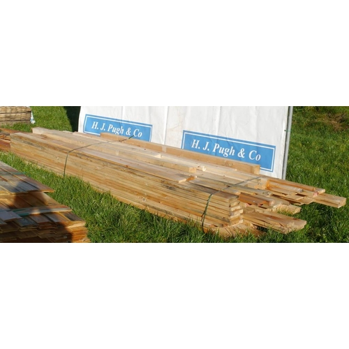 617 - Mixed decking and timbers 3.3M average +VAT...