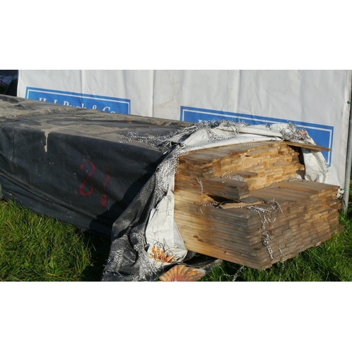 618 - Boards 4M 95x20 -330 +VAT...