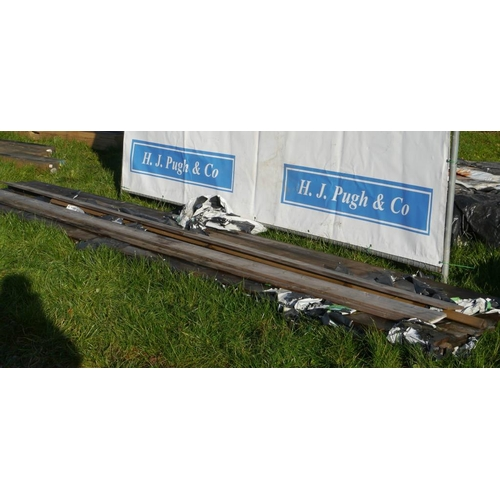 620 - Boards 5.1M 150x20 -16 +VAT...