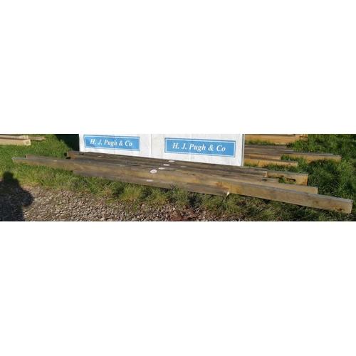 625 - Oak beam 5.82M 50x170 -2 +VAT...