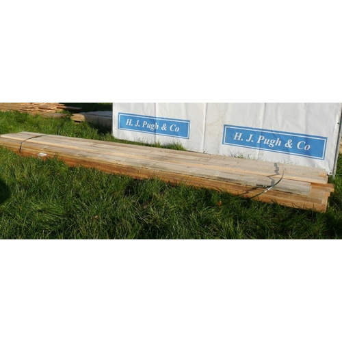 601 - Boards 4.8M 150x30 -21 +VAT...