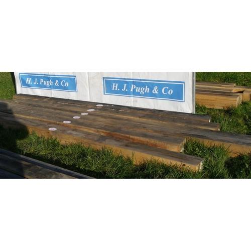 634 - Oak beam 3.4M 200x150 +VAT...
