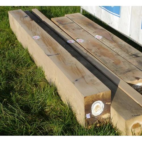 652 - Oak beam 2.9M 200x300 +VAT...