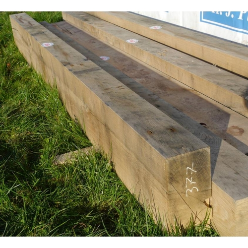 659 - Oak beam 3.4M 150x330 +VAT...