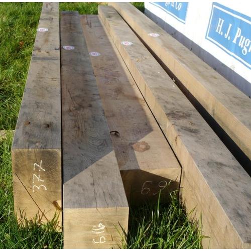 660 - Oak beam 3.6M 200x200 +VAT...