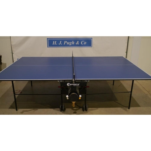 1 - Sponeta rollaway table tennis table model 210.3010/L...
