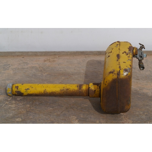 31 - Caterpillar donkey engine fuel tank