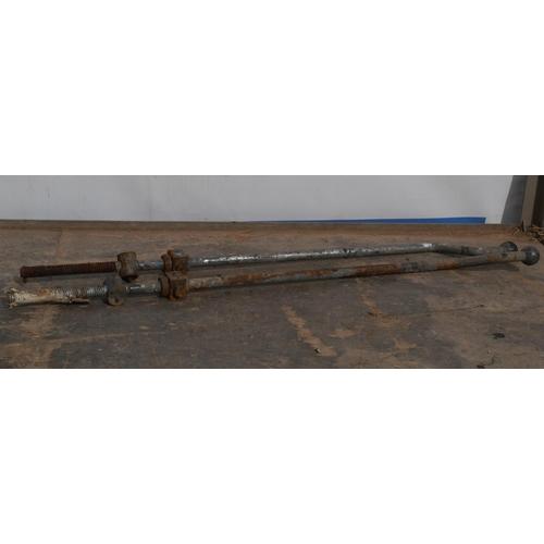 8 - Massey Ferguson plough handles