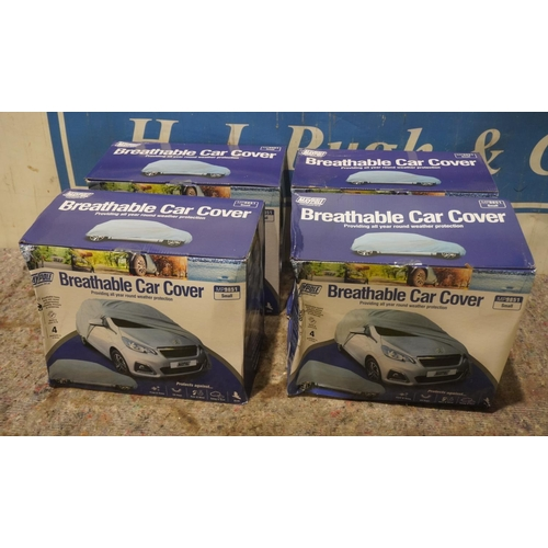 32 - 4 Car covers +VAT